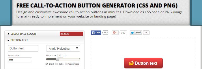 Call-to-Action Buttons - Generatoren
