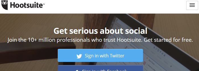Hootsuite - Twitter-Client for Professionals