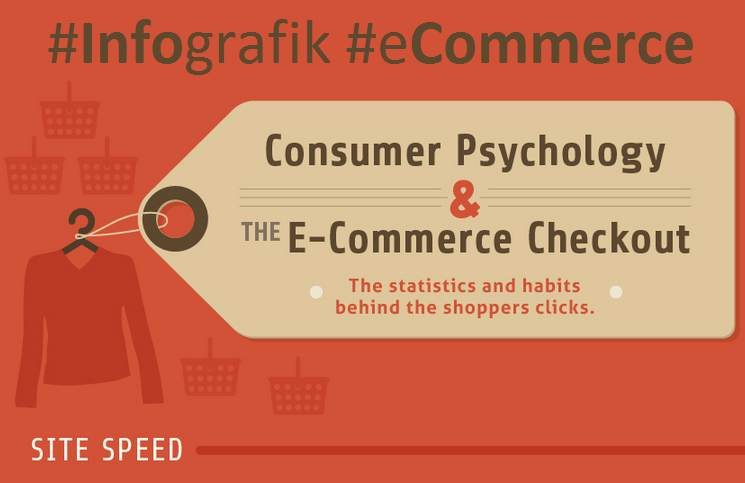 Verbraucher Psychologie & e-Commerce Checkout – Infografik
